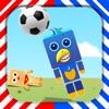 疯狂动物-模拟小动物踢足球