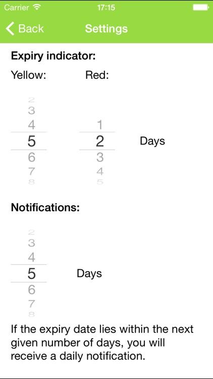 Expiry Date App screenshot-3