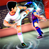 Tania San Vicente - Soccer Heroes Press Room Fight artwork