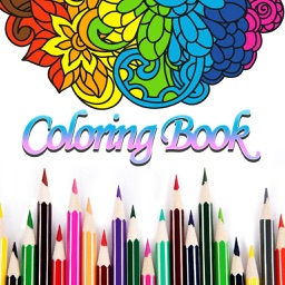 Adult Coloring Book Color Page By Mingming Fan
