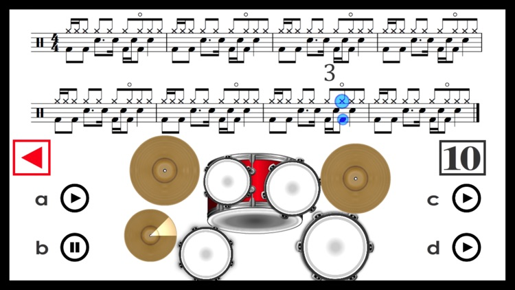 Learn how to play Drums PRO screenshot-3