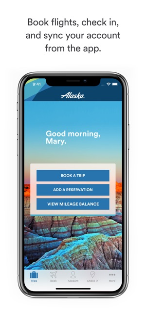 alaska airlines on the app store