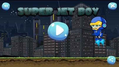 HERO SUPER JET BOY SHOOTER Screenshot 1