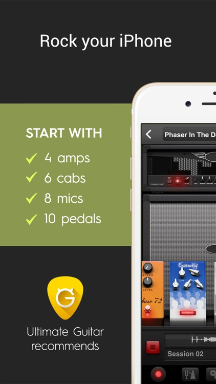 AmpKit+ guitar amps & pedals screenshot-0