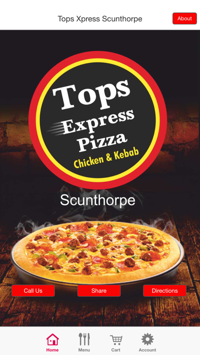Tops Express Pizza Scunthorpe By Appinstitutecouk Ios