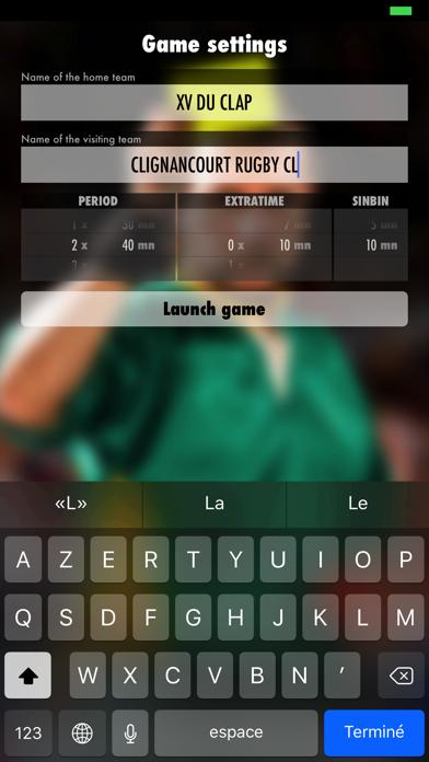 iRugbyRef screenshot two