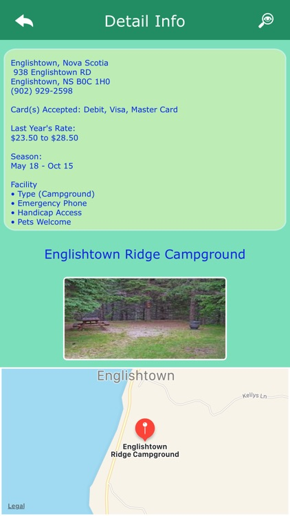 Nova Scotia Campgrounds