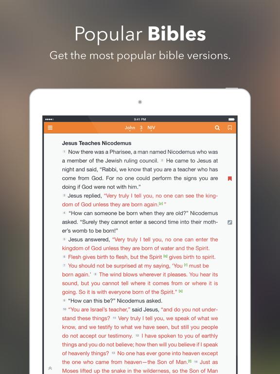 Bijbel +1 iPad app afbeelding 1