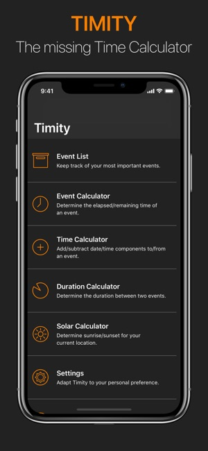 Timity Screenshot