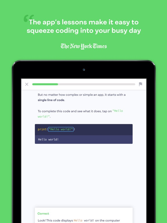 Mimo: Learn to Code Screenshots