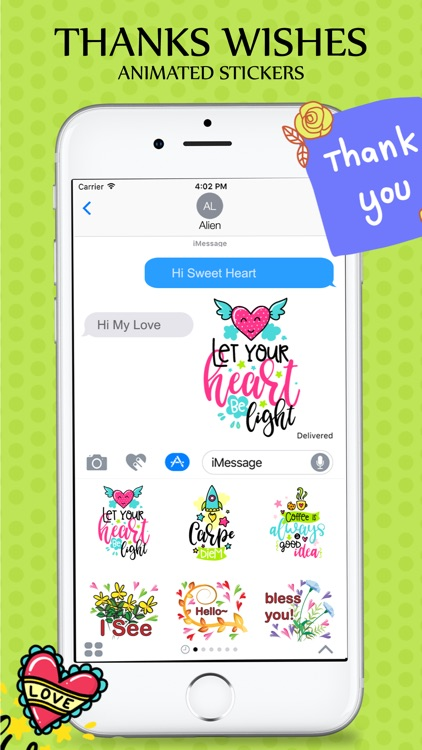 Animated Wishes Stickers Pack screenshot-4