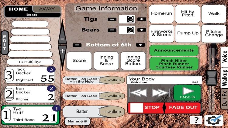 Gametime Announcer Travel Team screenshot-7