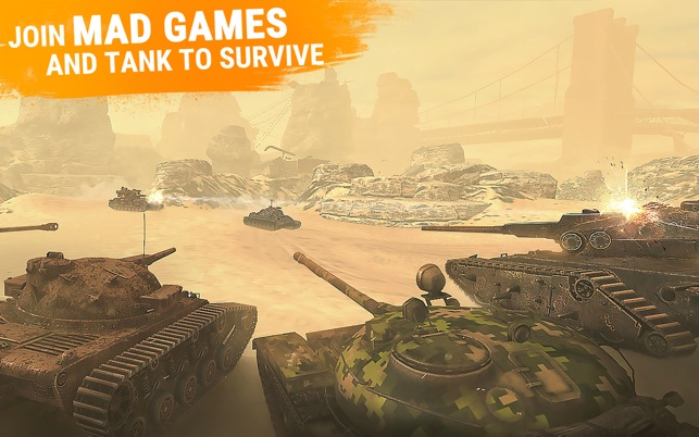 World of Tanks Blitz on the Mac App Store
