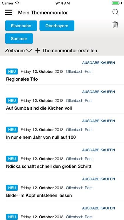 Offenbach-Post E-Paper screenshot-4