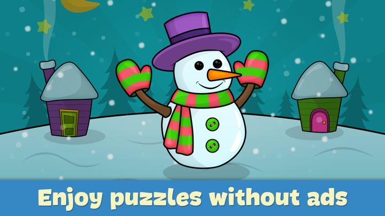 Toddler puzzle games for kids screenshot-4