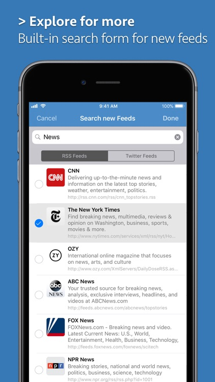 News Explorer screenshot-6