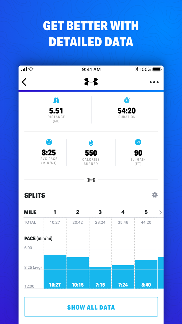 Map My Fitness by Under Armour Screenshot