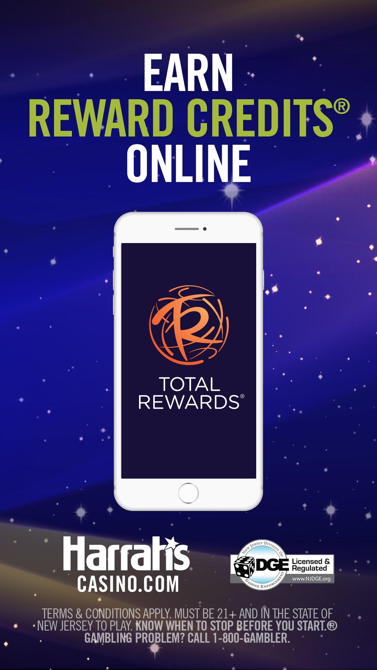 Harrah's Online Casino NJ Screenshot