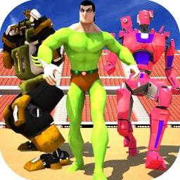 Super Monster Hero Arena Battle