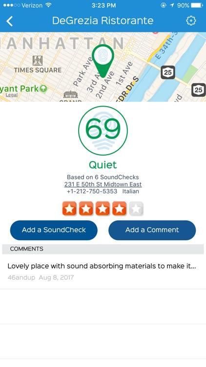 SoundPrint, find a quiet spot screenshot-3