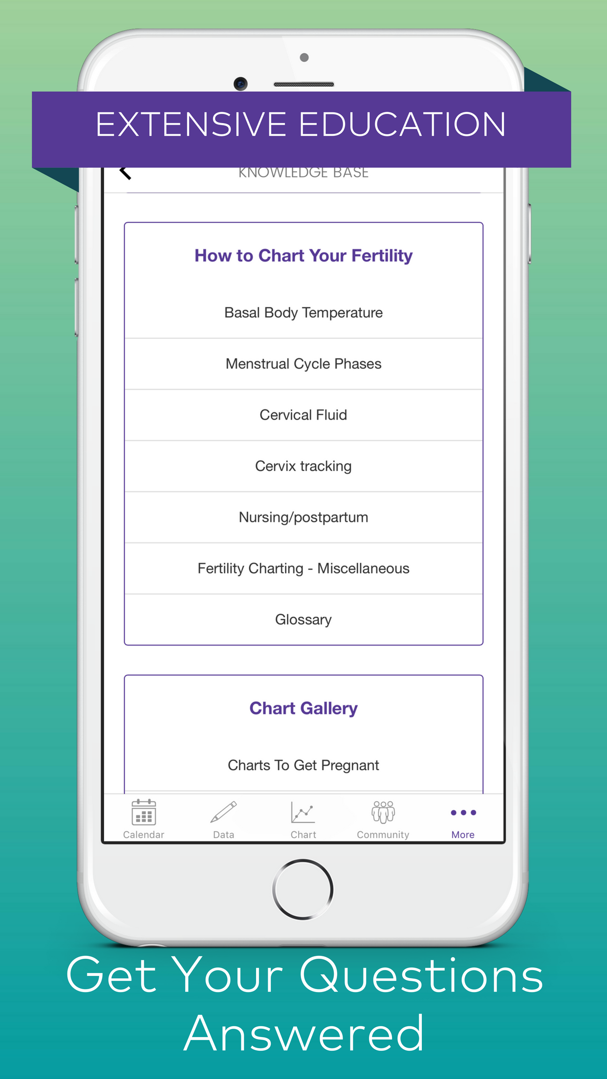 Kindara: Fertility Tracker Screenshot