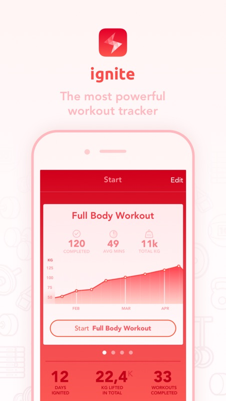 Ignite - Workout Tracker - Online Game Hack and Cheat
