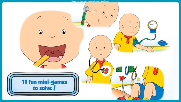 Caillou Check Up: Doctor Visit