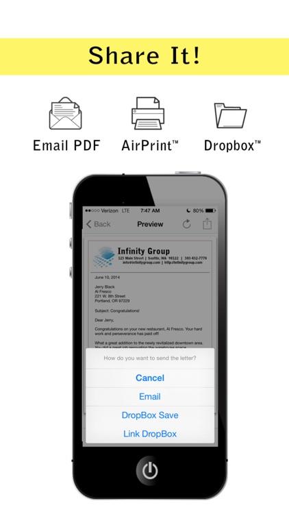 Pocket Letter Pro screenshot-4