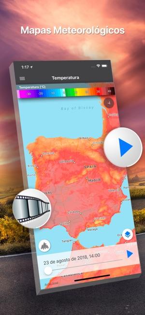 El Tiempo 14 Días Meteored En App Store