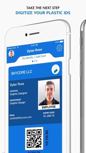 id123 digital id card app on the app store