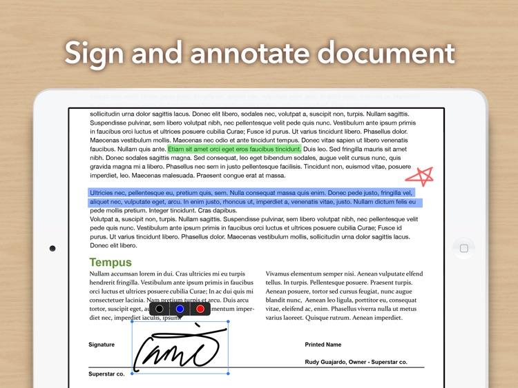 Doc Scan HD - Fax PDF Scanner