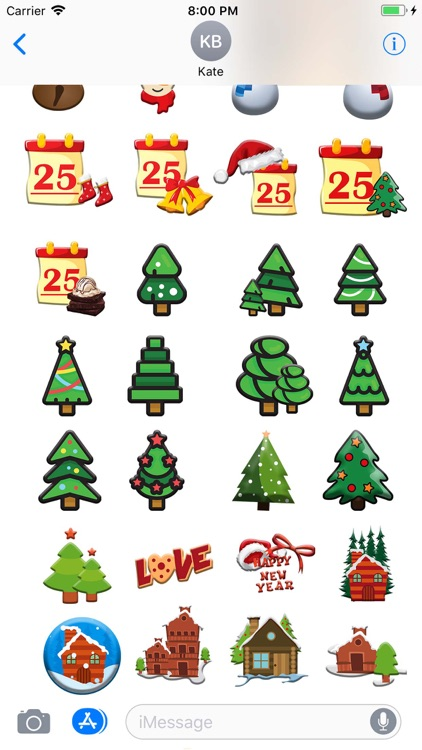 Christmas Moji & Animated Emoj screenshot-2