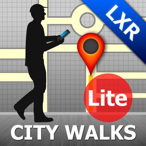 Luxor Map and Walks iOS App