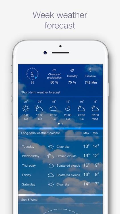 Weather Pro iRocks screenshot-3