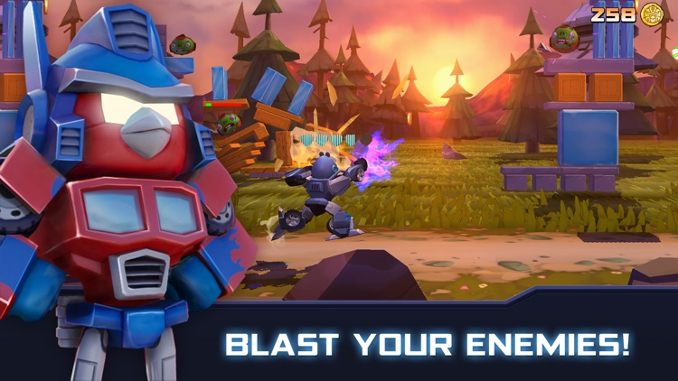 Angry Birds Transformers screenshot-0