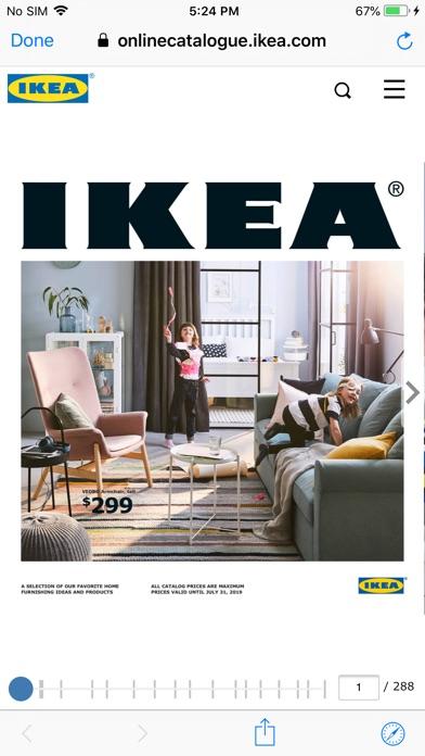 Screenshot for IKEA Catalogue in Jordan App Store