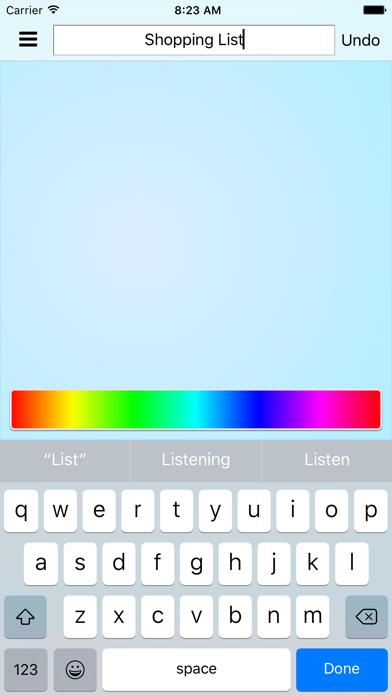 ShopShop - Shopping List screenshot three
