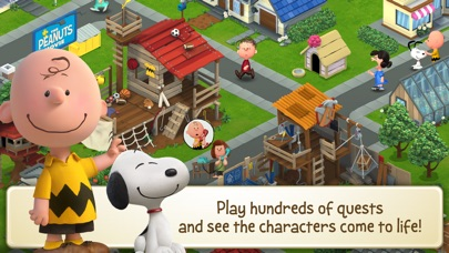 Peanuts: Snoopy's Town Tale Screenshots