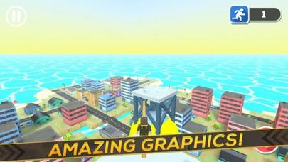 3D Block Man City Puzzle screenshot three