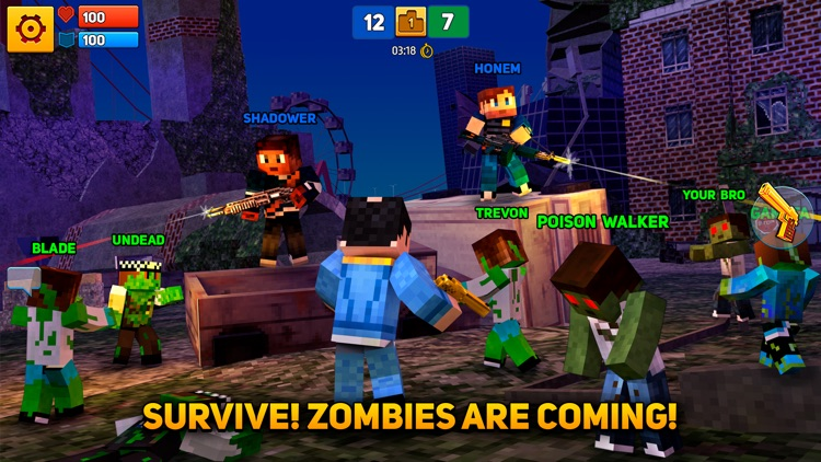 Block City Wars: Mafia Town screenshot-3