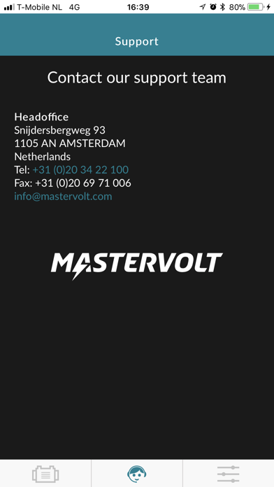 Screen Shot Mastervolt Battery Monitor 3