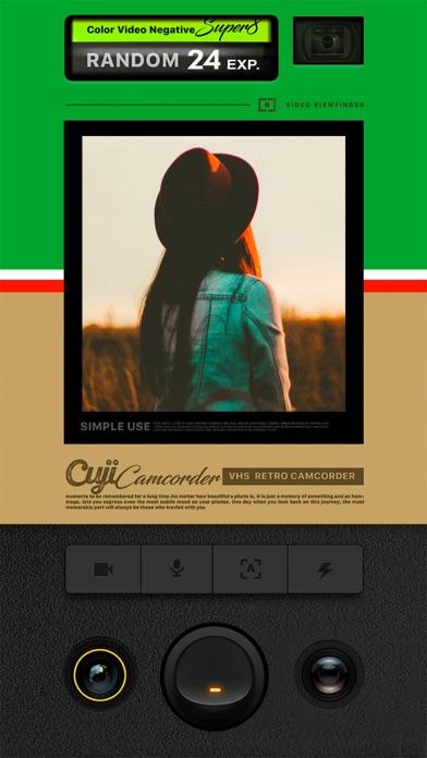 Cuji Camcorder - VHS Video Cam ScreenShot0