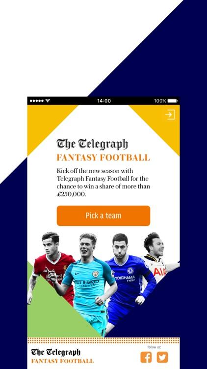 Telegraph Fantasy Football