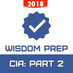 IIA: CIA Part 2 Exam Prep 2018
