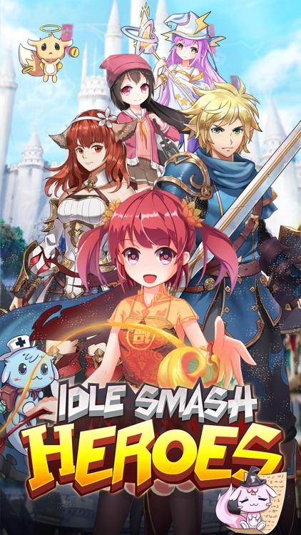 Idle Smash Heroes: RPG Clicker screenshot-5