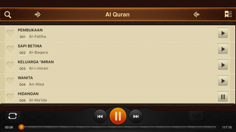 Al-Quran. 114 Surah. Indonesia