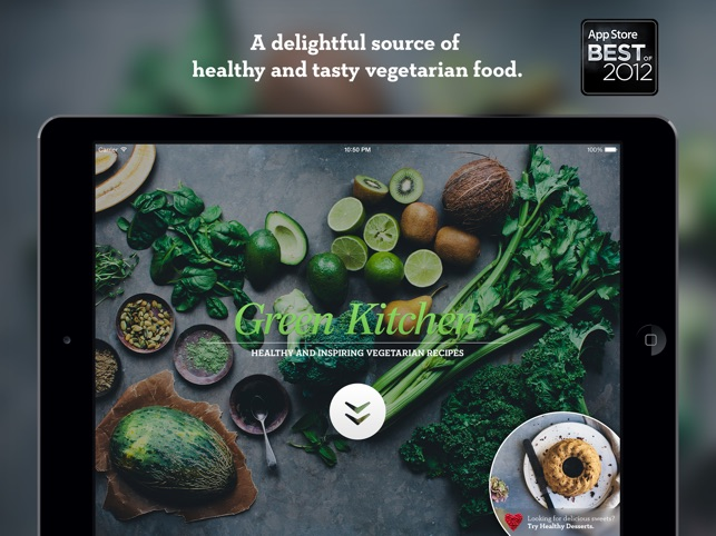 Green Kitchen Screenshot