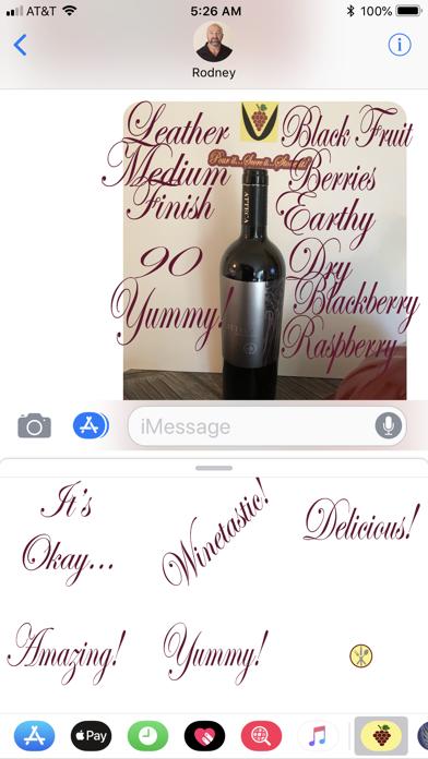 Grape Cluster Wine Scoring screenshot two