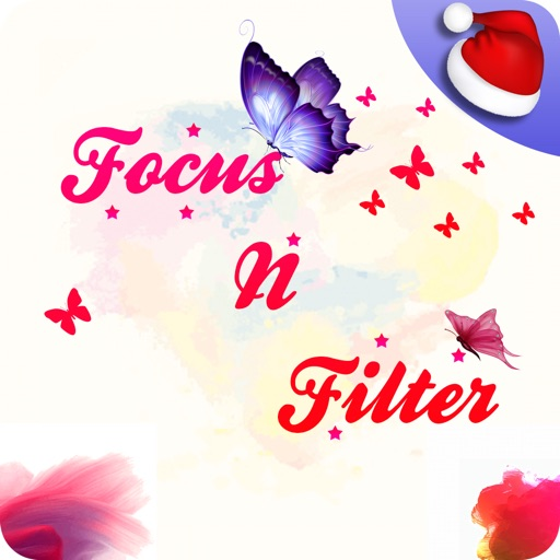 Focus n Filter - Name Art iOS App