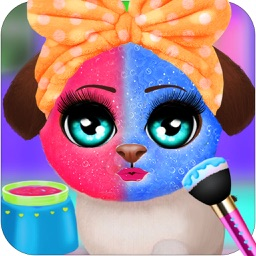 Pet Puppy Make Up Salon Game